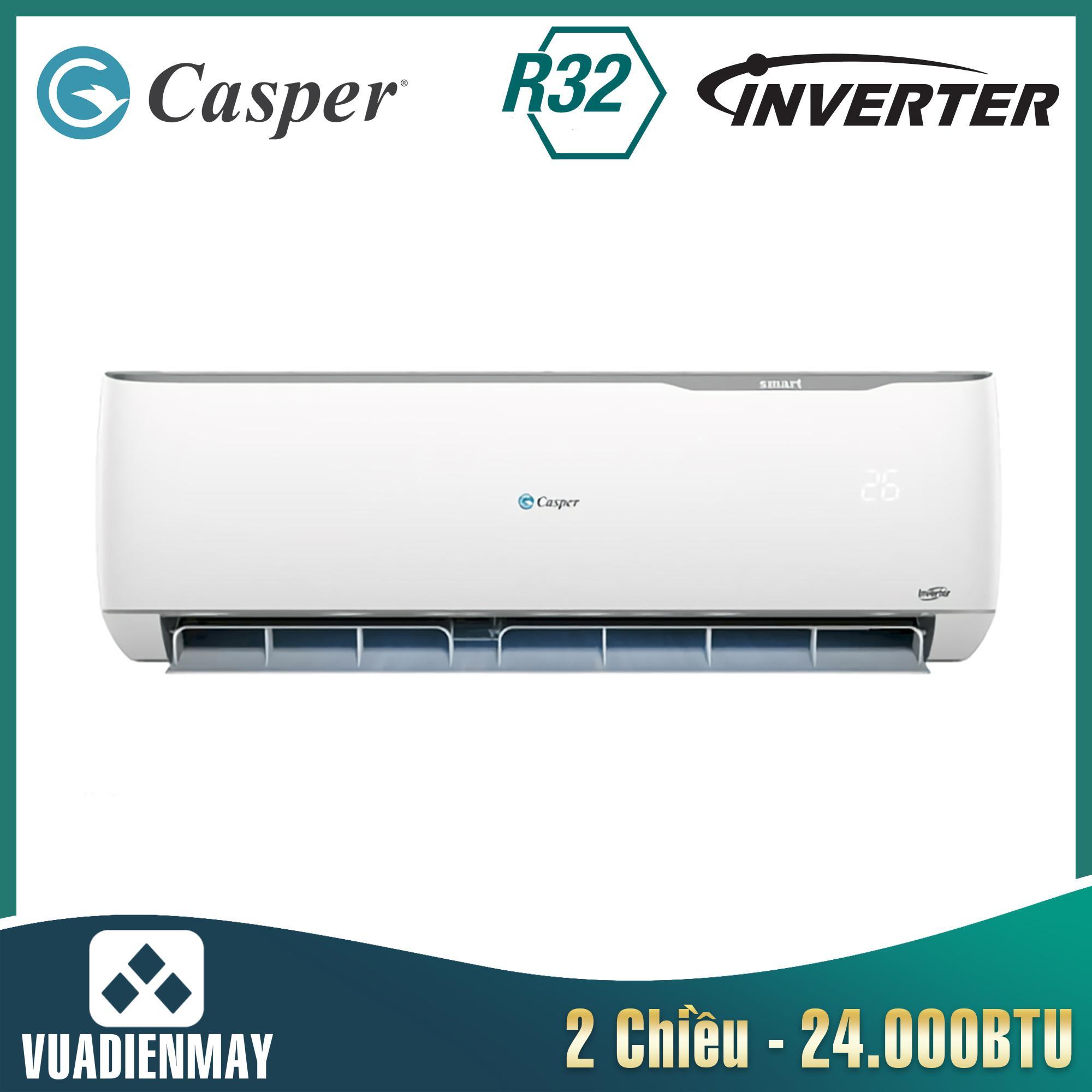 GH24TL32, điều hòa casper 24000btu 2 chiều inverter