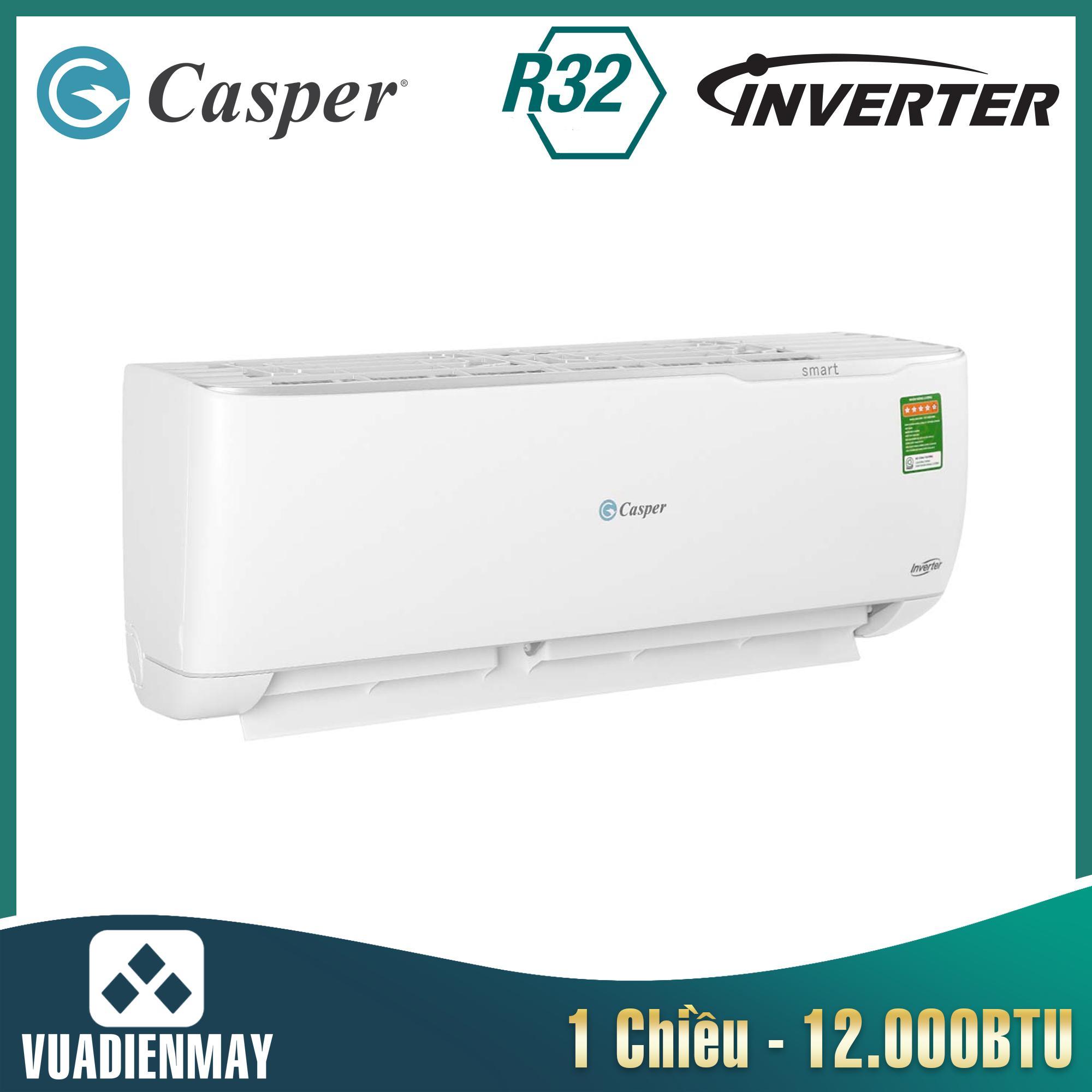 GC12TL32, điều hòa casper 12000btu 1 chiều inverter