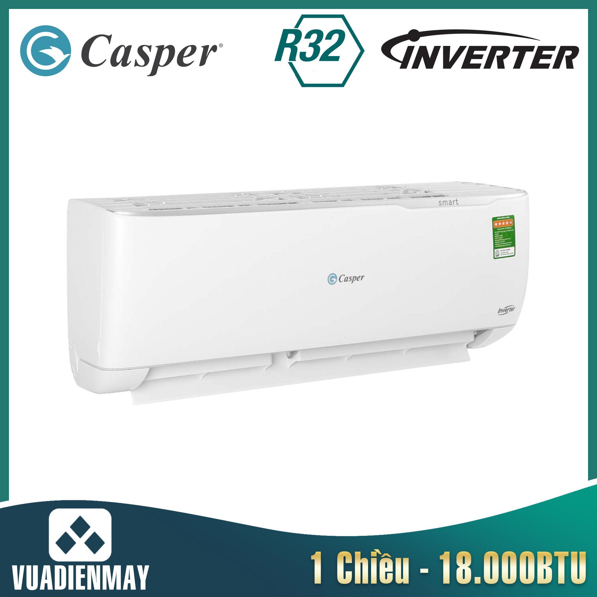 GC18TL32, điều hòa casper 18000btu 1 chiều inverter
