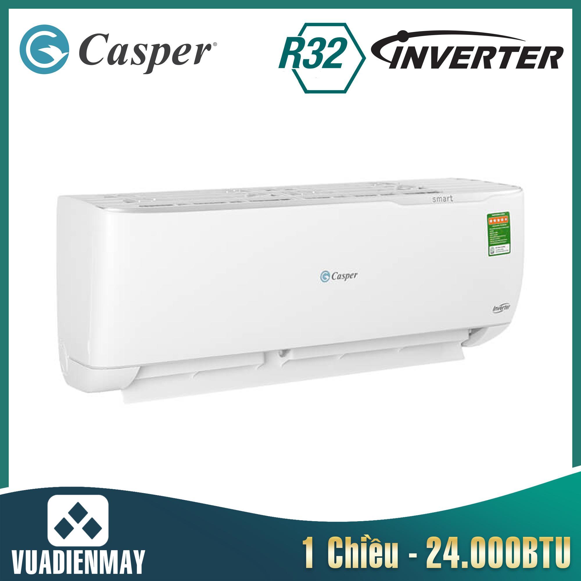 GC24TL32, Điều hòa Casper 24000BTU 1 chiều inverter