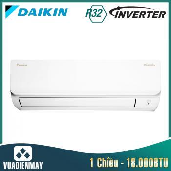 Điều hòa Daikin 18000BTU 1 chiều inverter