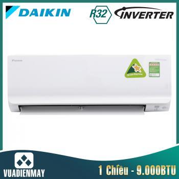 Điều hòa Daikin 9000BTU 1 chiều inverter FTKC series