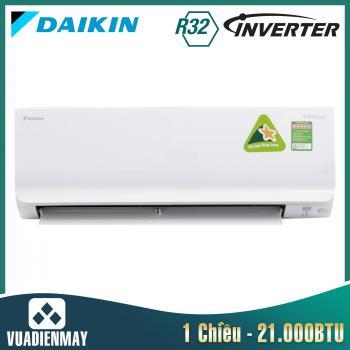 Điều hòa Daikin 21000BTU 1 chiều inverter FTKC series