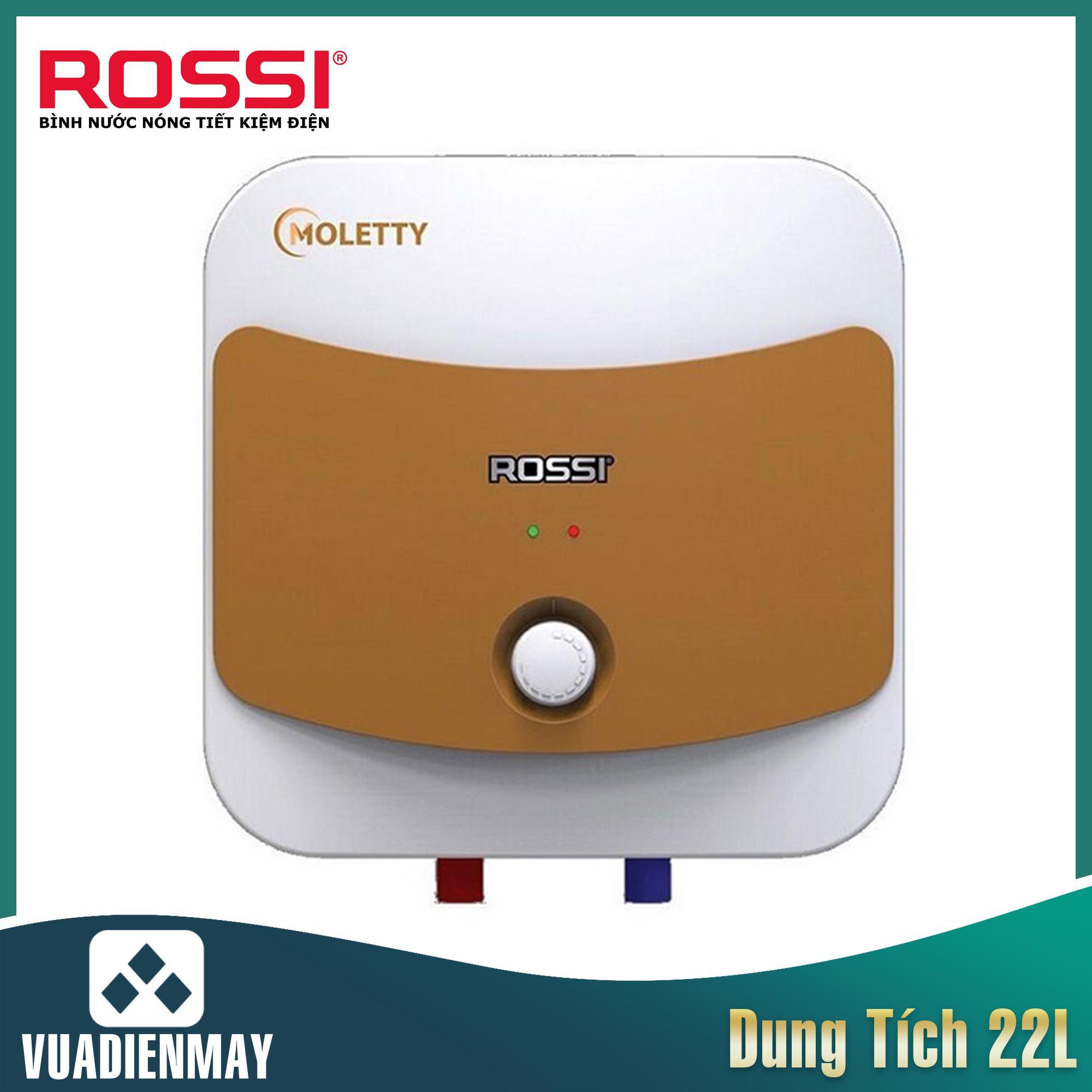 Bình nóng lạnh Rossi 22L Saphir Moletty