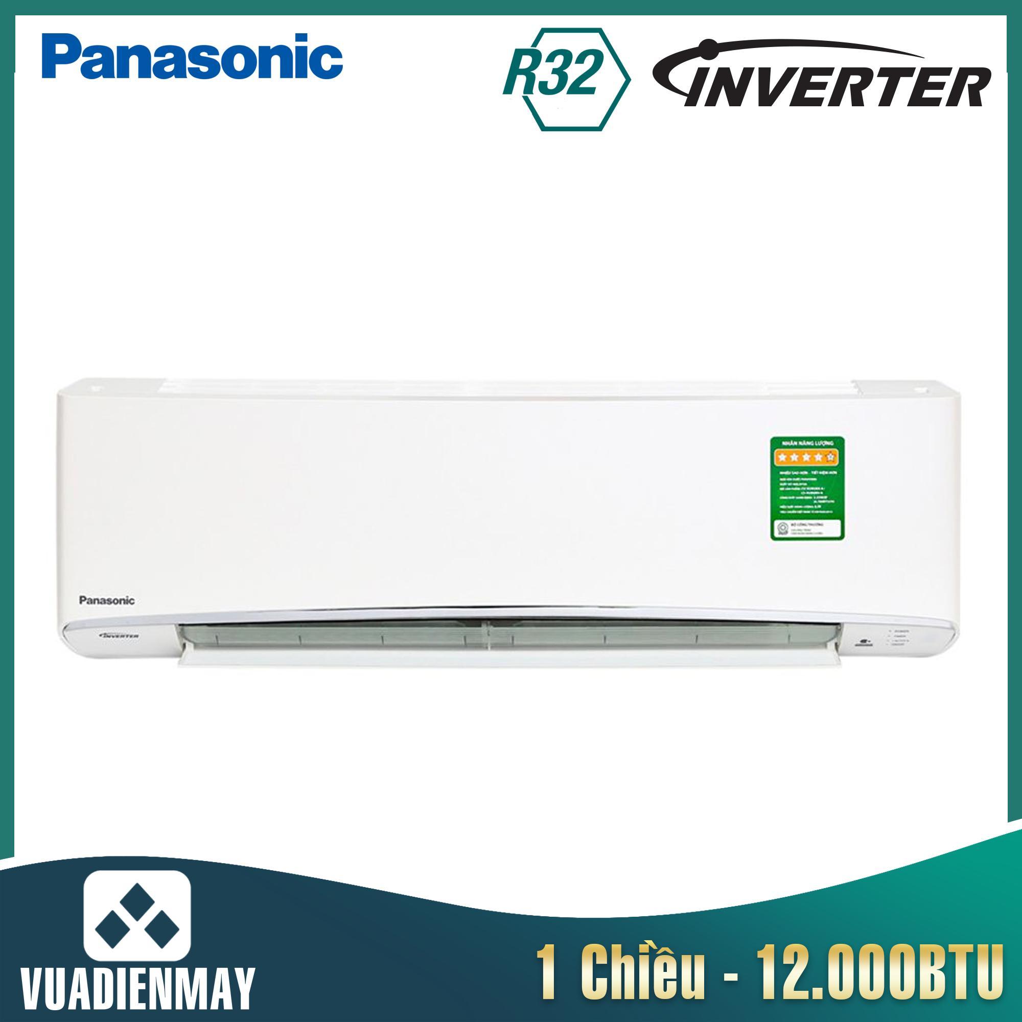 U12VKH-8, Điều hòa Panasonic 12000BTU 1 chiều Inverter