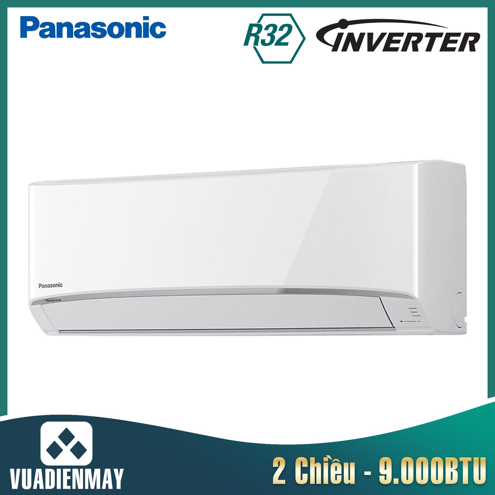 Điều hòa Panasonic 9000BTU 2 chiều Inverter