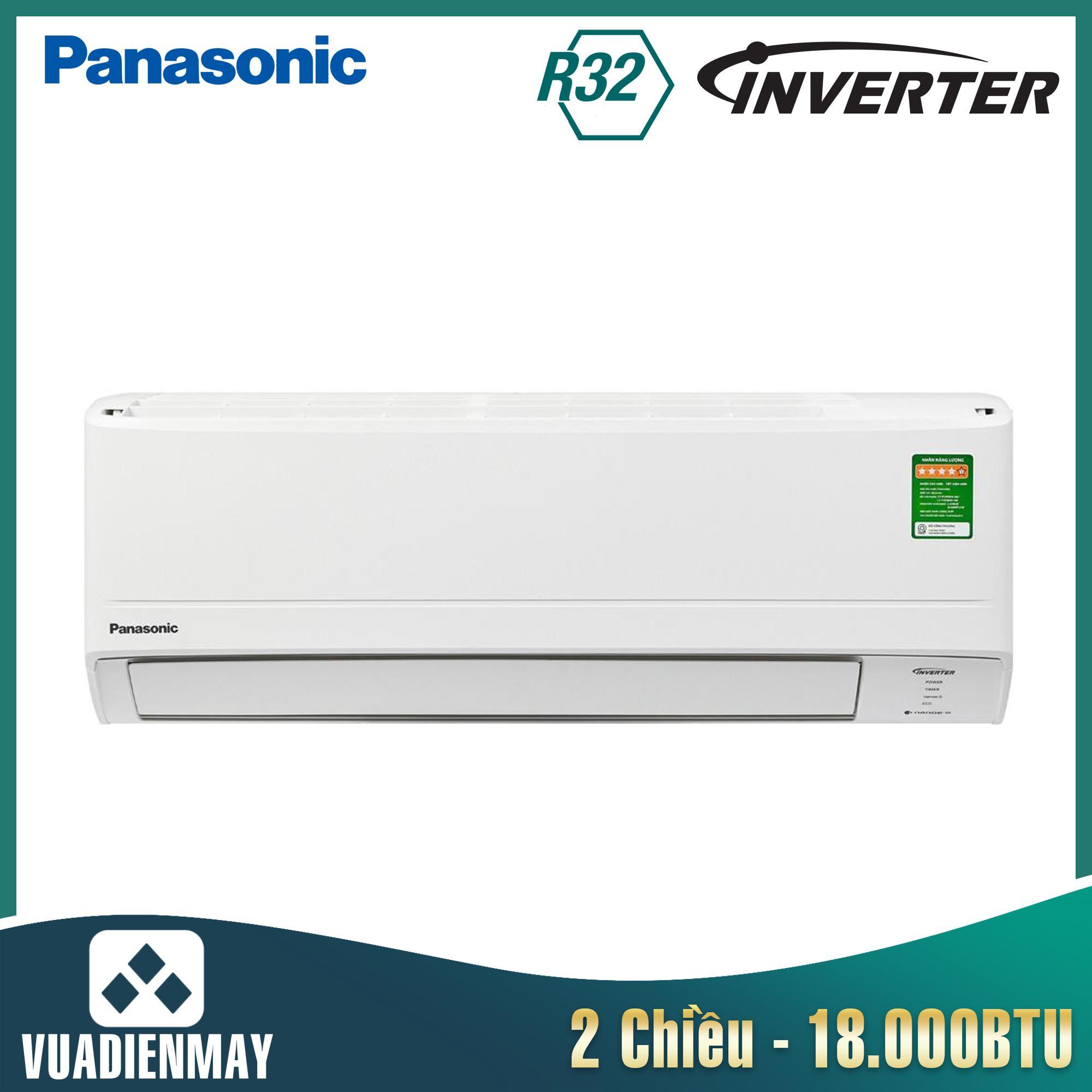 Điều hòa Panasonic 18000BTU 2 chiều Inverter cao cấp