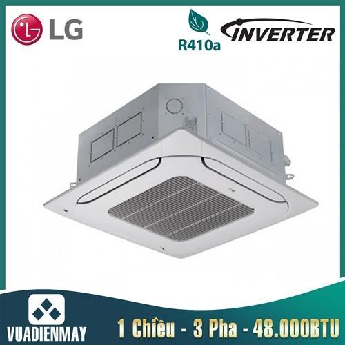 Điều hòa âm trần LG 48000BTU Inverter 1 chiều 1 Pha + Mặt nạ PT-MCGW0