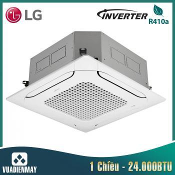 Điều hòa âm trần LG 24000BTU Inverter 1 chiều 1 Pha + Mặt nạ PT-MCGW0