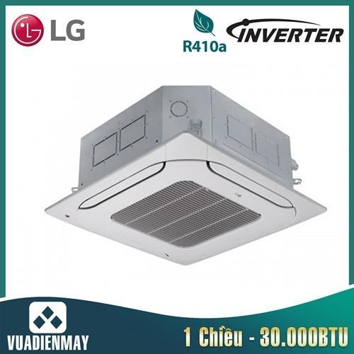 Điều hòa âm trần LG 30000BTU Inverter 1 chiều 3 Pha + Mặt nạ PT-MCGW0