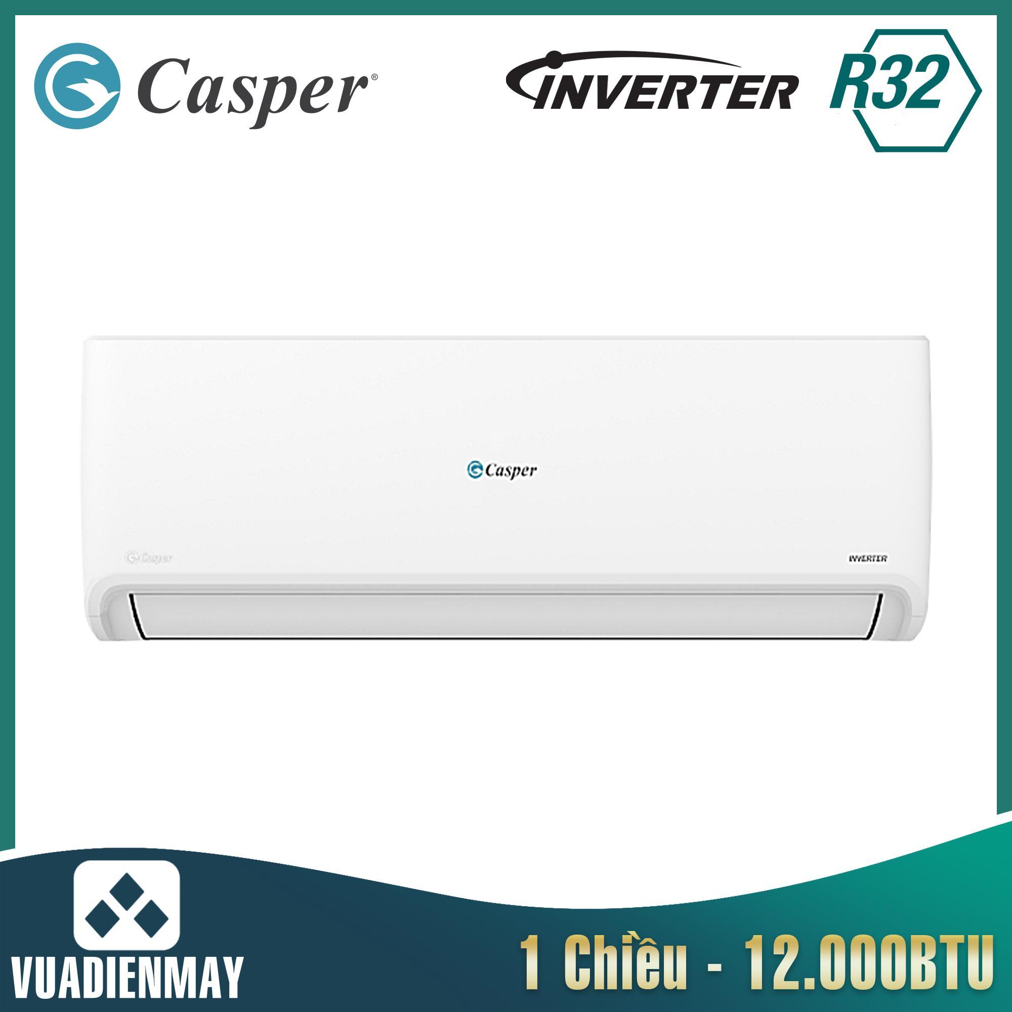 HC12IA32, điều hòa casper 12000btu 1 chiều inverter
