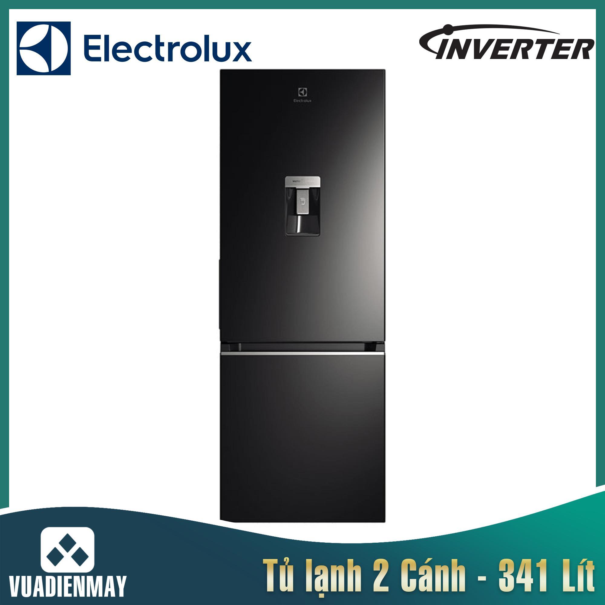 Tủ lạnh Electrolux Inverter  341L màu đen