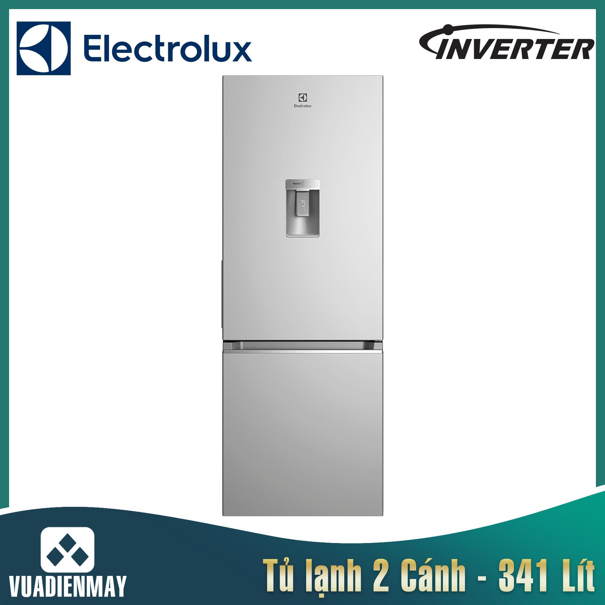 Tủ lạnh Electrolux Inverter 341L màu bạc
