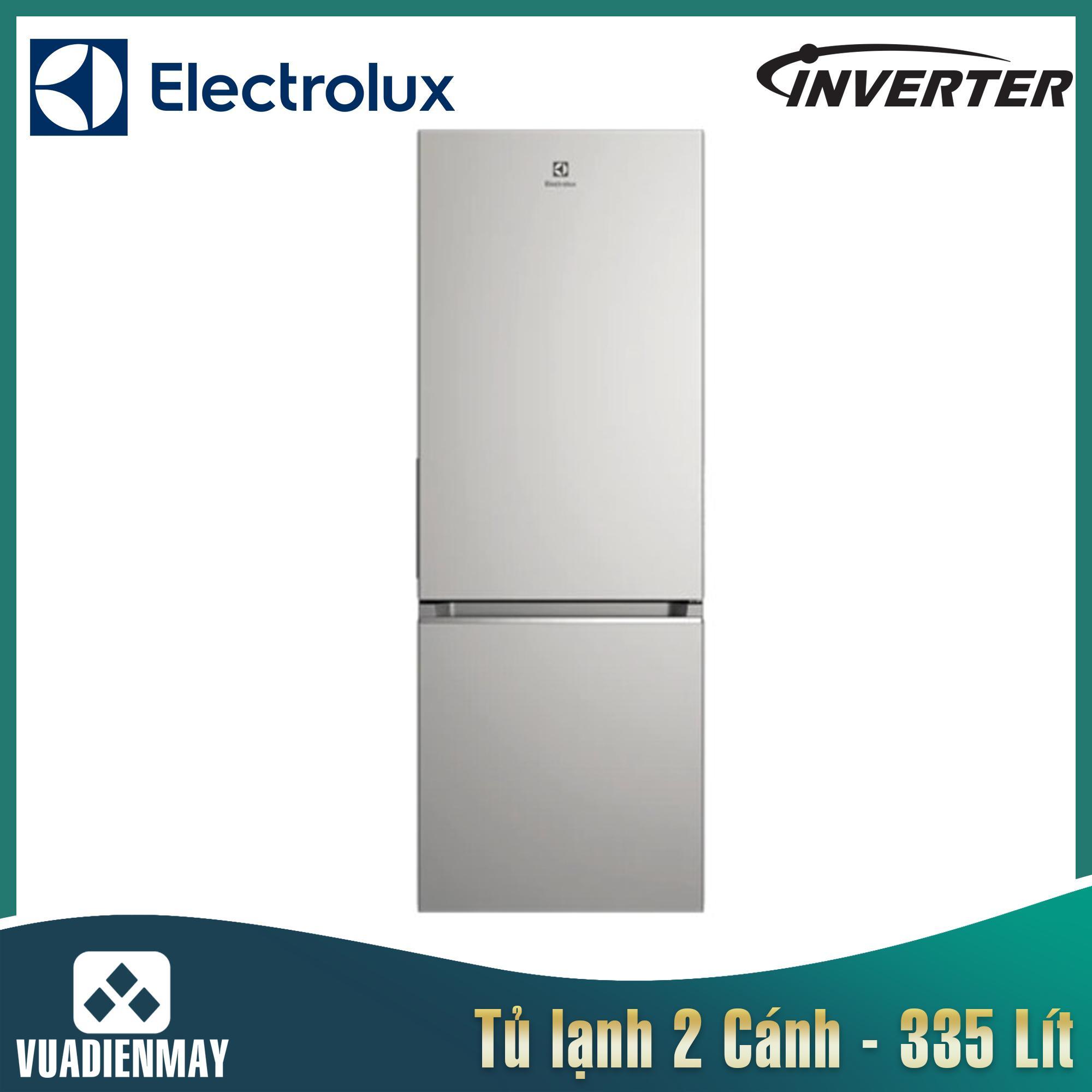 Tủ lạnh Electrolux Inverter 335L bạc