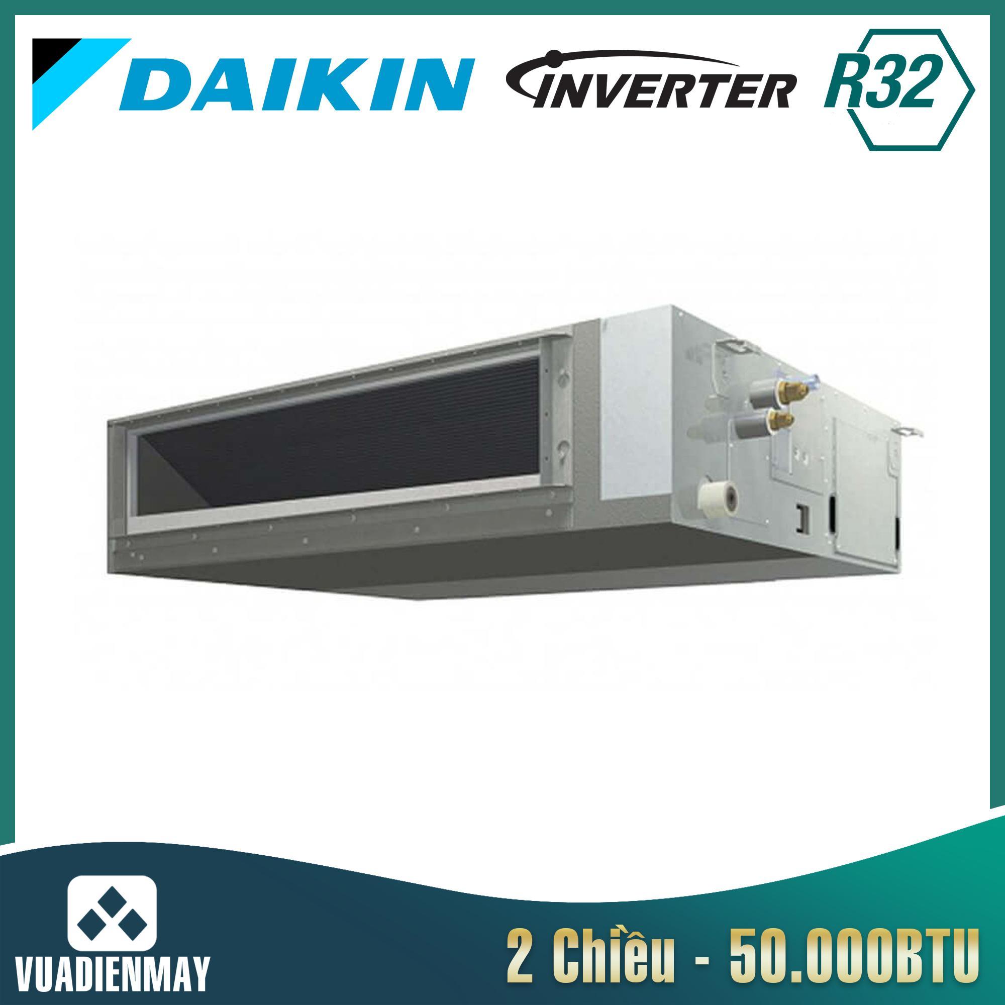 Điều hòa âm trần nối ống gió 50000BTU Daikin 2 chiều inverter