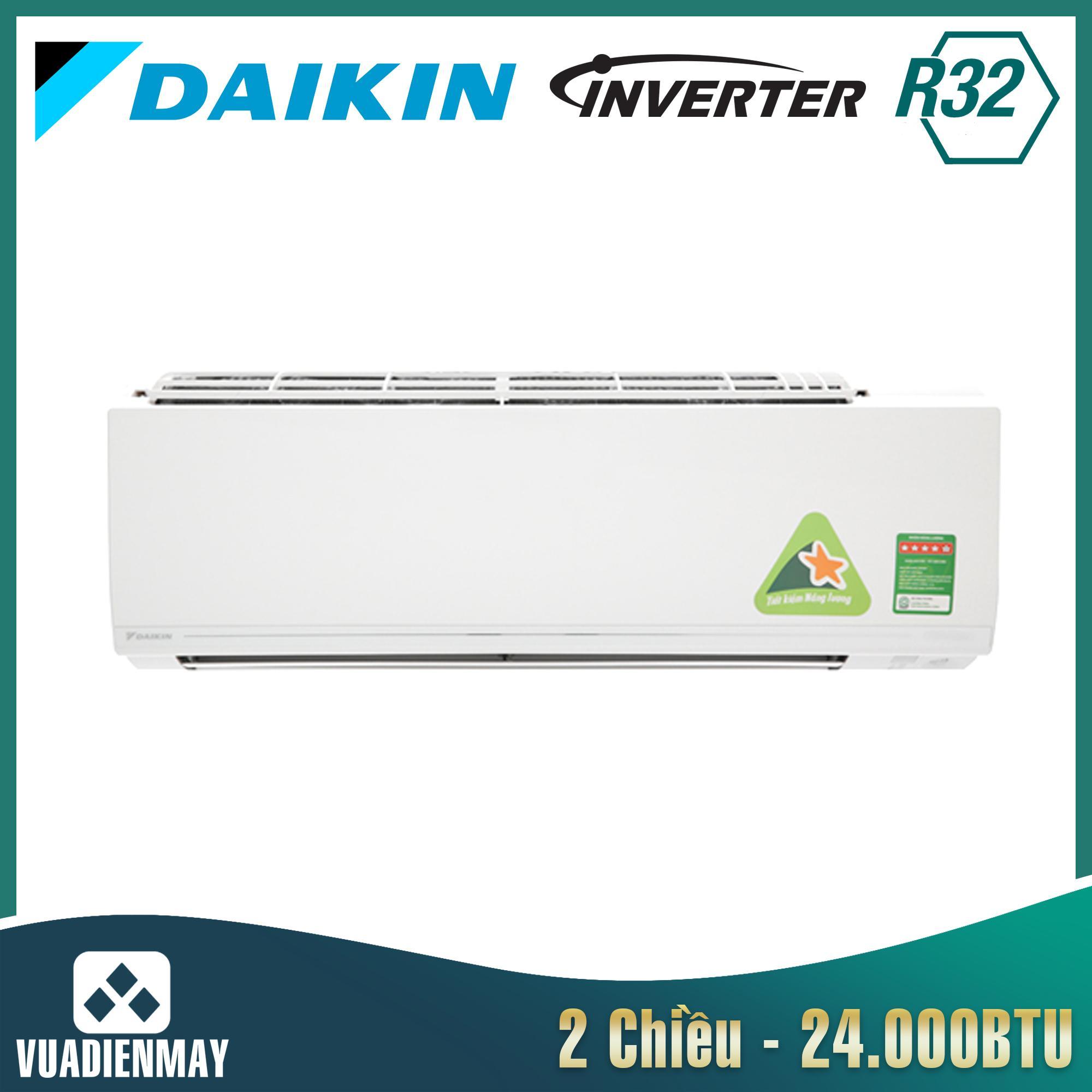 Điều hòa Daikin 2 chiều 24000BTU inverter