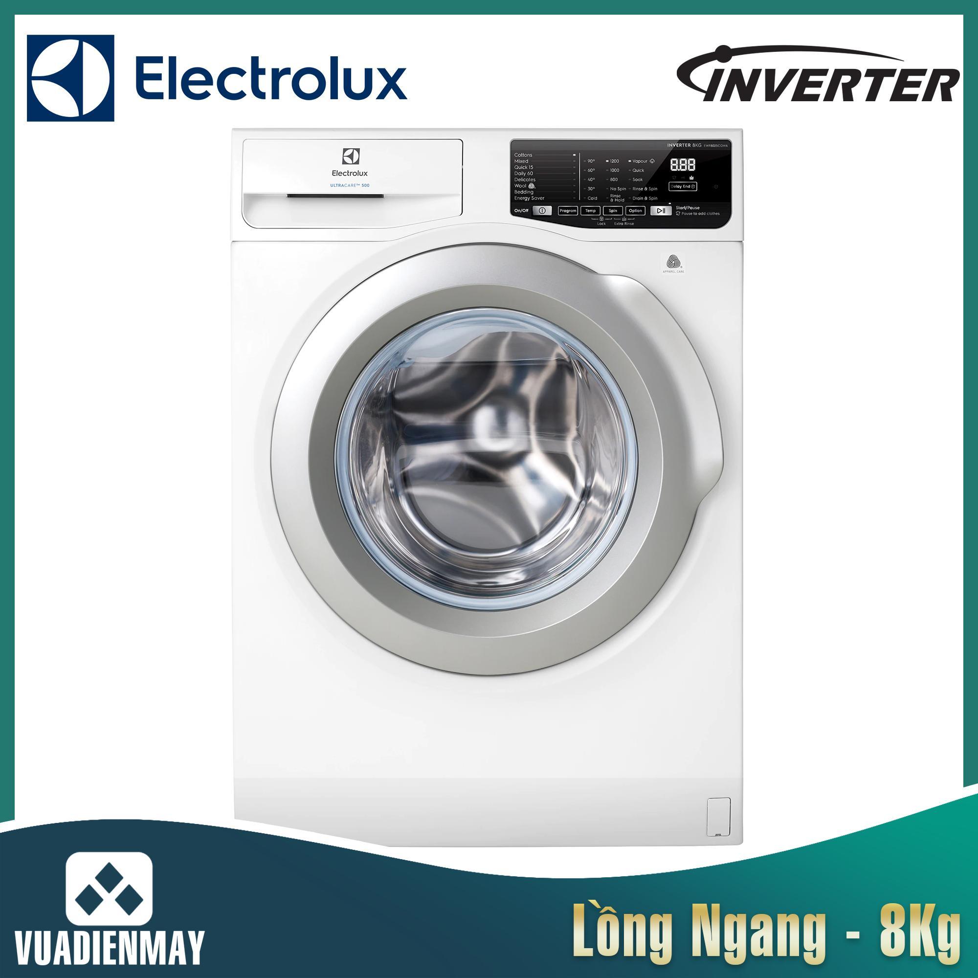 Máy giặt Electrolux 8 kg inverter lồng ngang