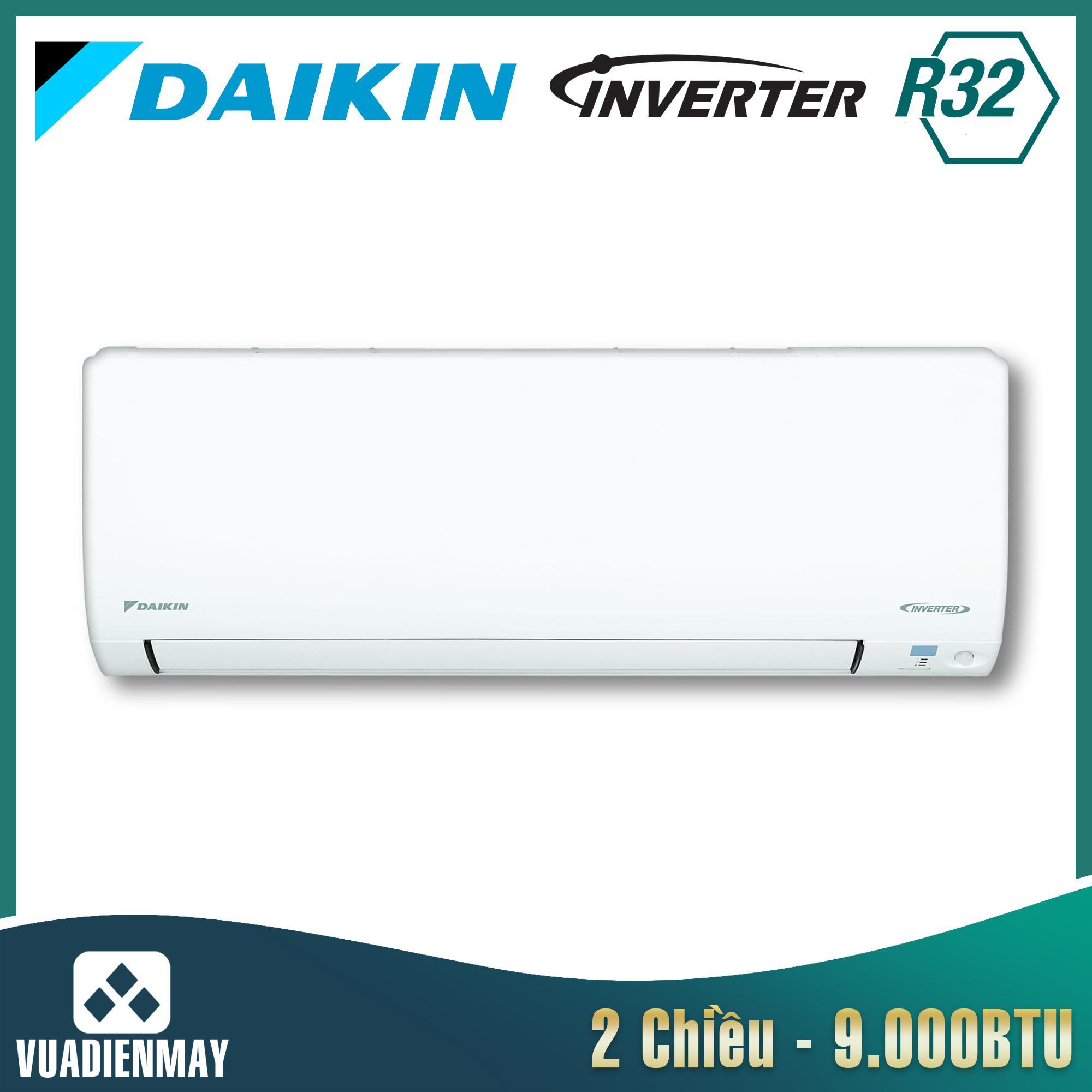 FTXV25QVMV, Điều hòa Daikin 9000btu 2 chiều inverter
