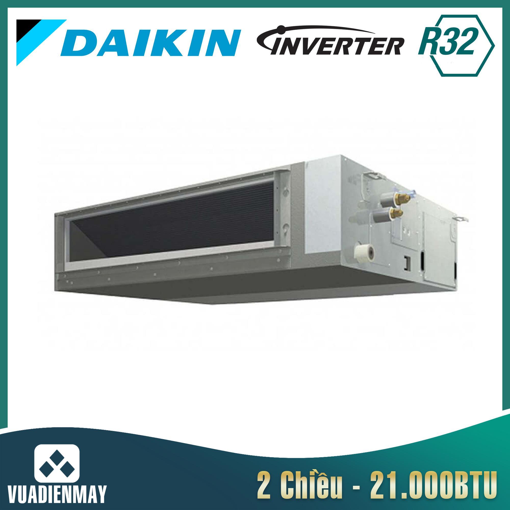 Điều hòa âm trần nối ống gió 21000BTU Daikin 2 chiều inverter
