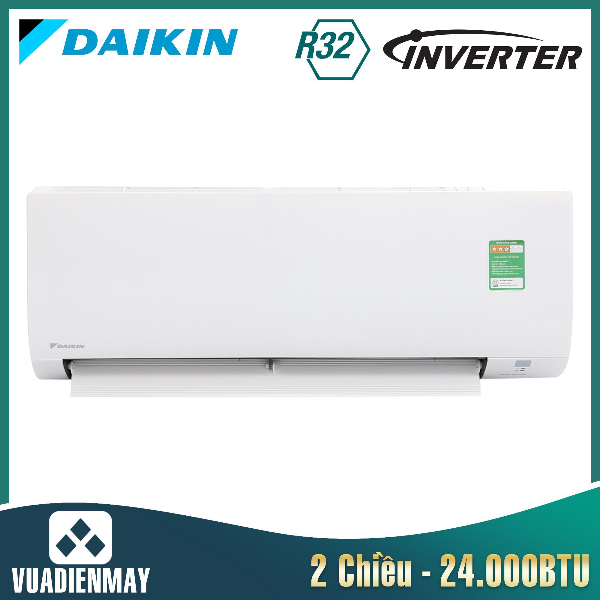 FTXV71QVMV, Điều hòa Daikin 24000btu 2 chiều Inverter