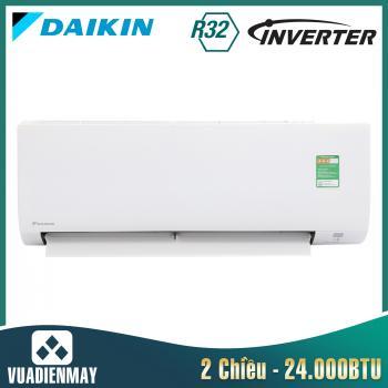 Điều hòa Daikin Inverter 2 chiều 24.000BTU
