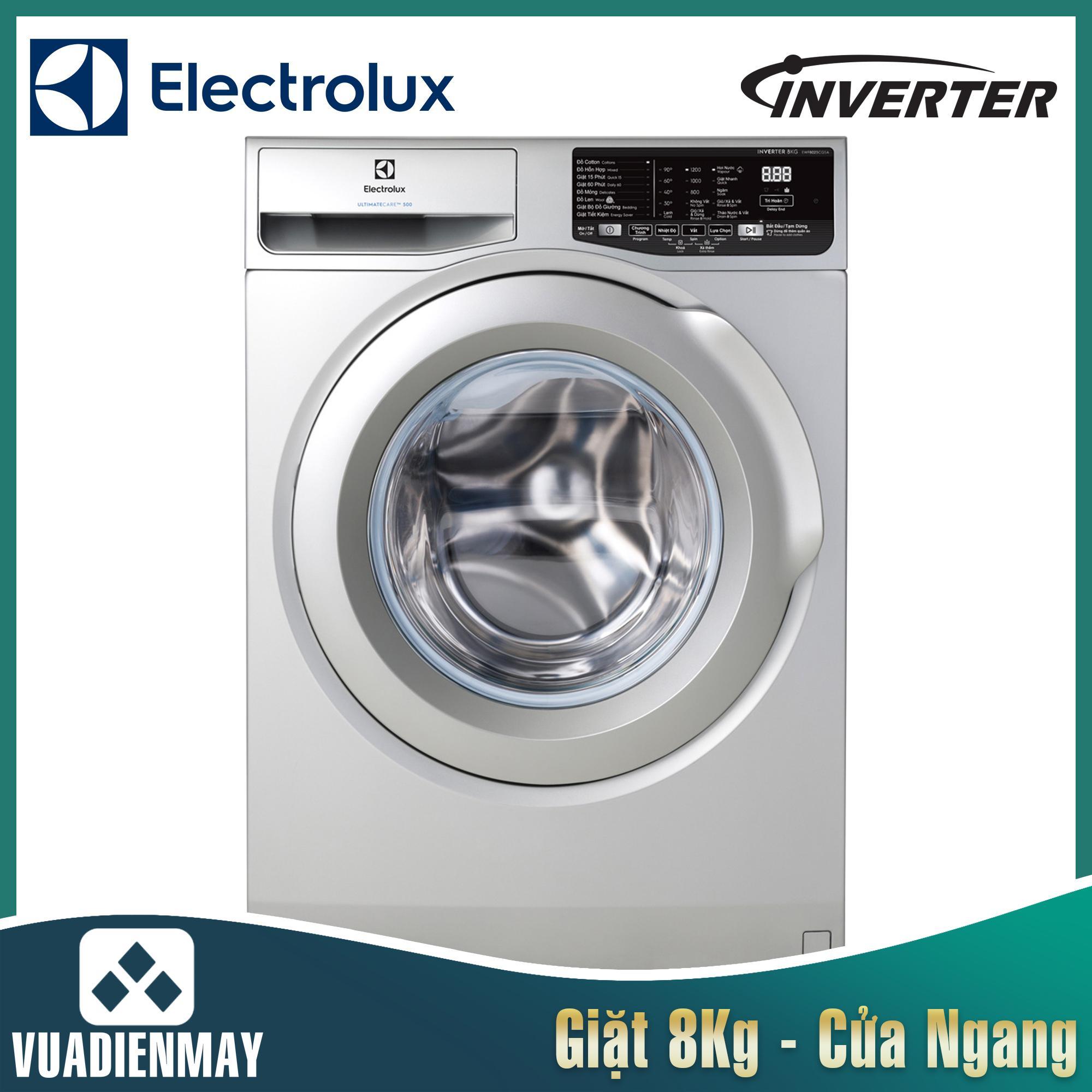 Máy giặt Electrolux 8 kg lồng ngang inverter 8025CQ