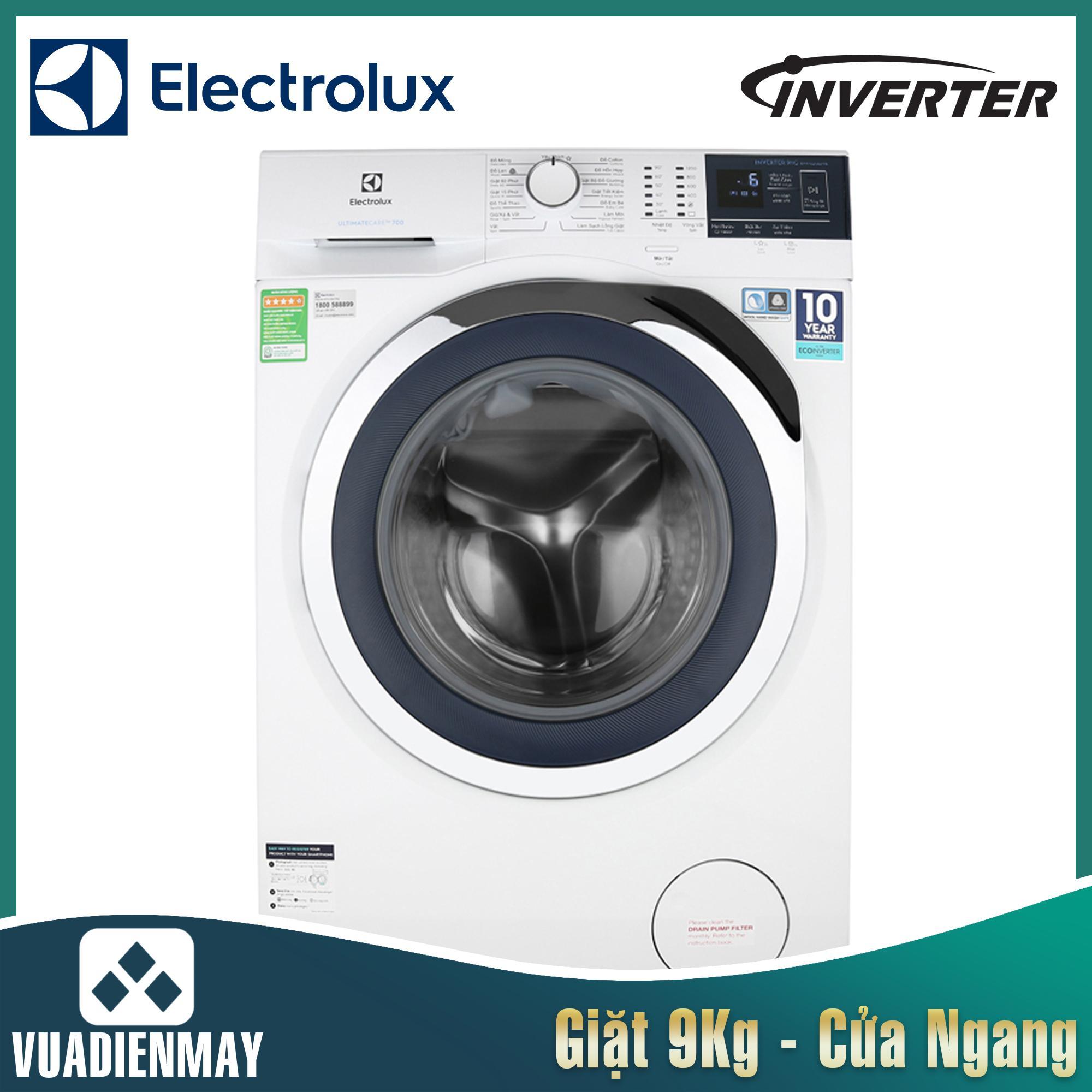 Máy giặt Electrolux 9 kg lồng ngang inverter 9024