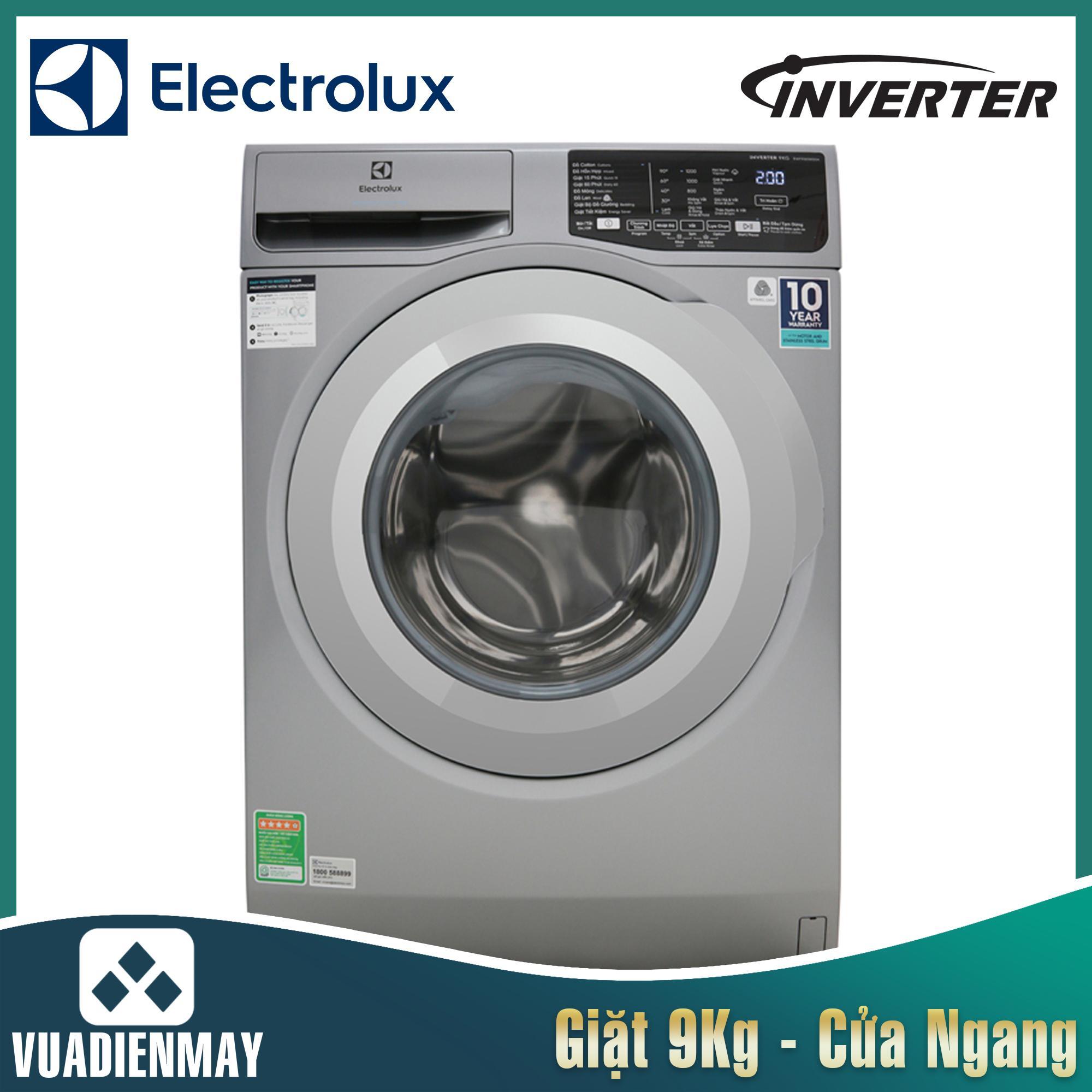 Máy giặt Electrolux 9 kg lồng ngang inverter 9025