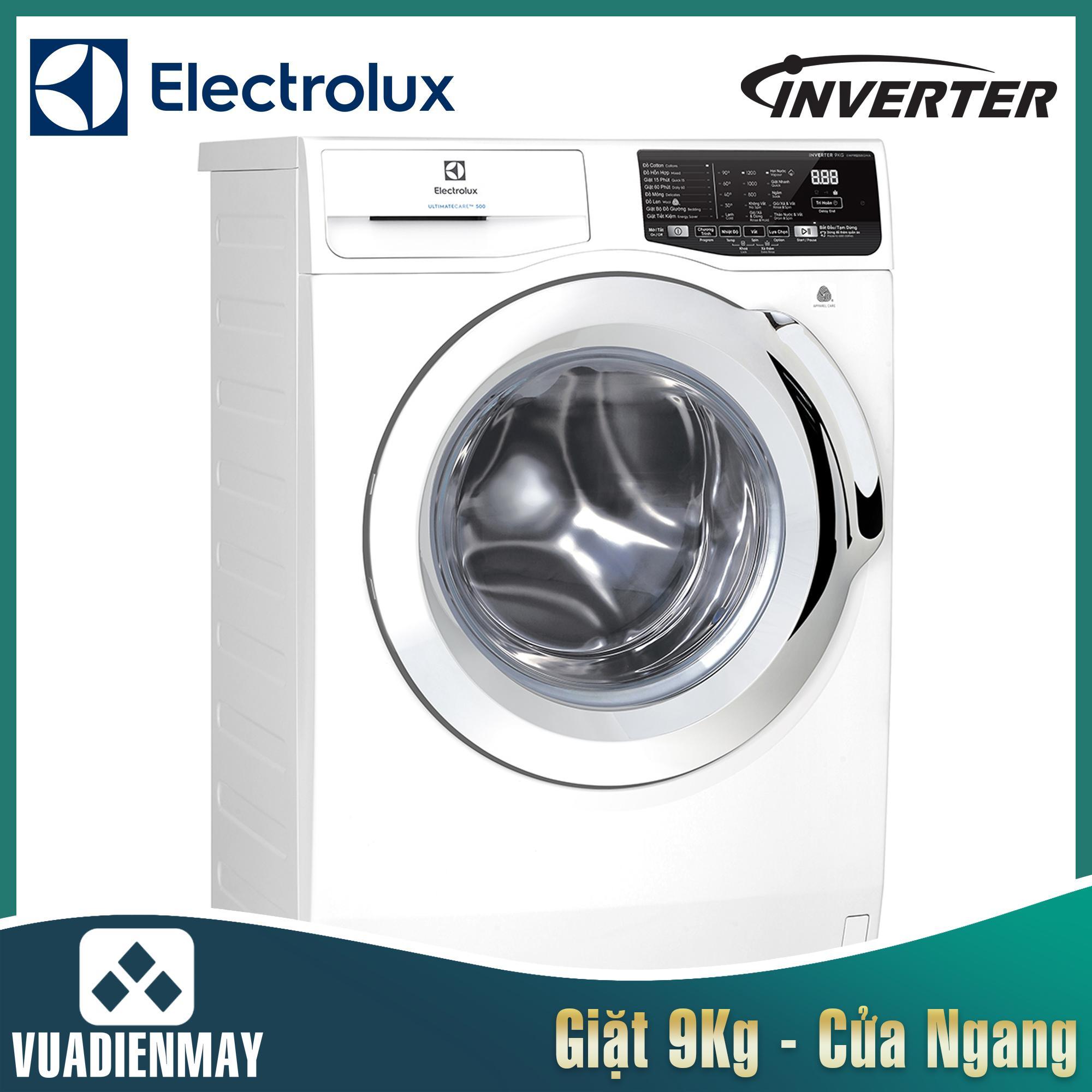 Máy giặt Electrolux 9 kg lồng ngang inverter 9025BQ