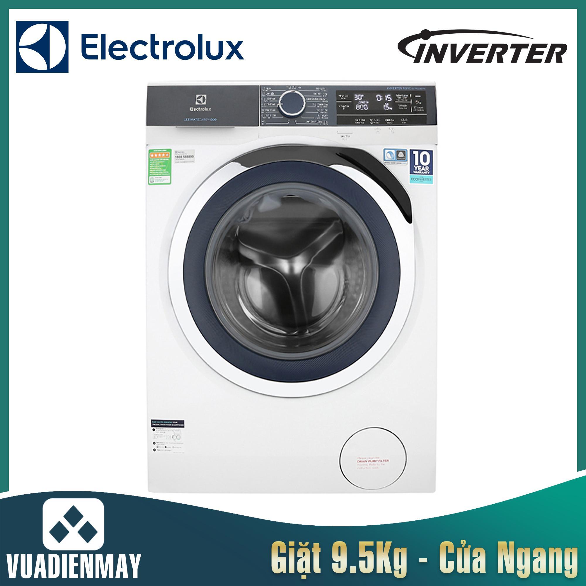 Máy giặt Electrolux 9.5 kg lồng ngang inverter 9523BD