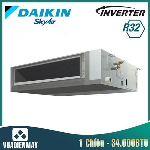 Điều hòa nối ống gió Daikin 34000BTU inverter 1 chiều