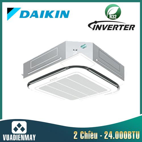 Điều hòa âm trần Daikin 24000BTU 2 chiều inverter FCF71CVM