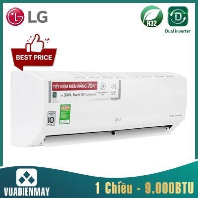 V10ENW1, Điều hòa LG 9000BTU 1 chiều  Inverter (2021)