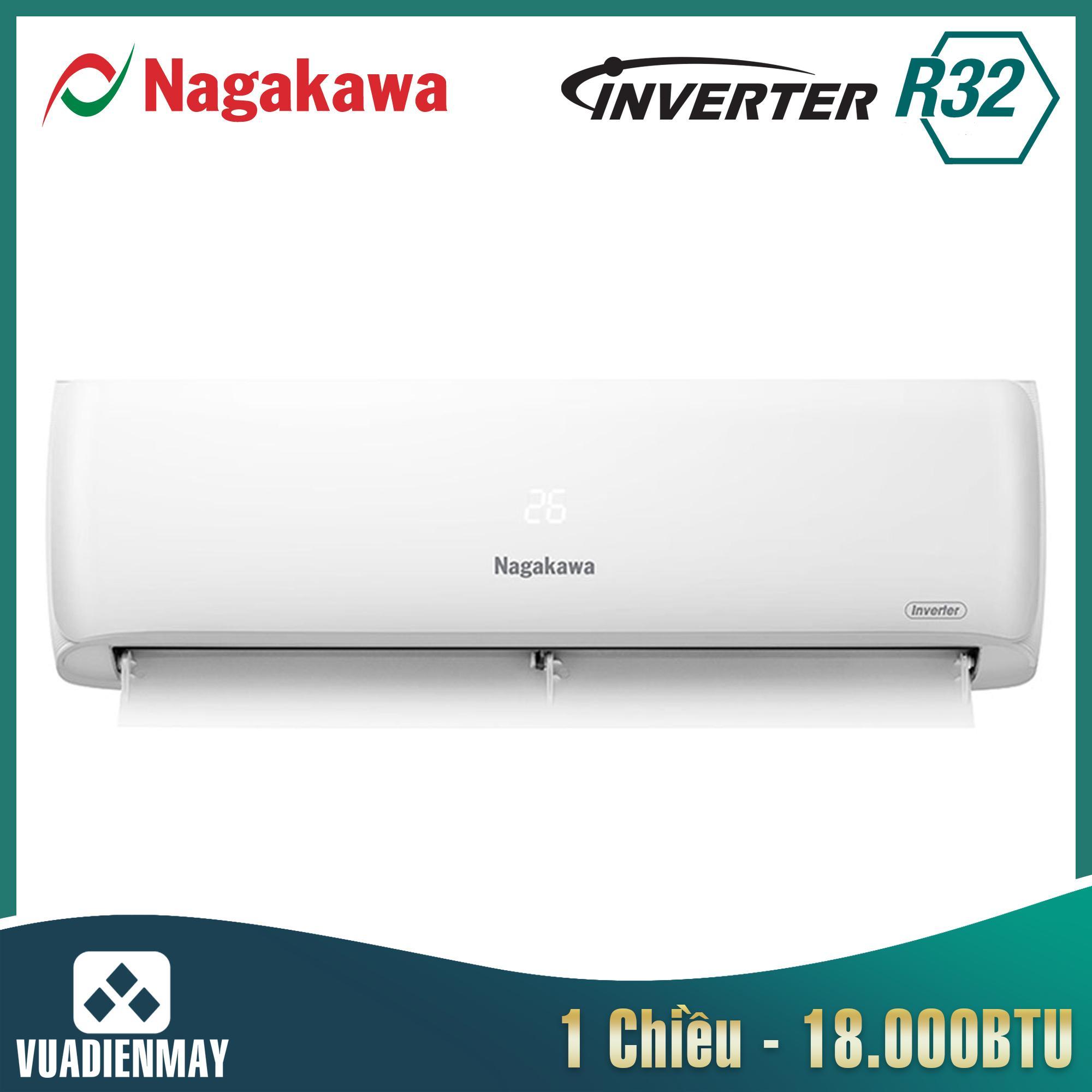 NIS-C18R2H08, Điều hòa Nagakawa 18000BTU 1 chiều inverter