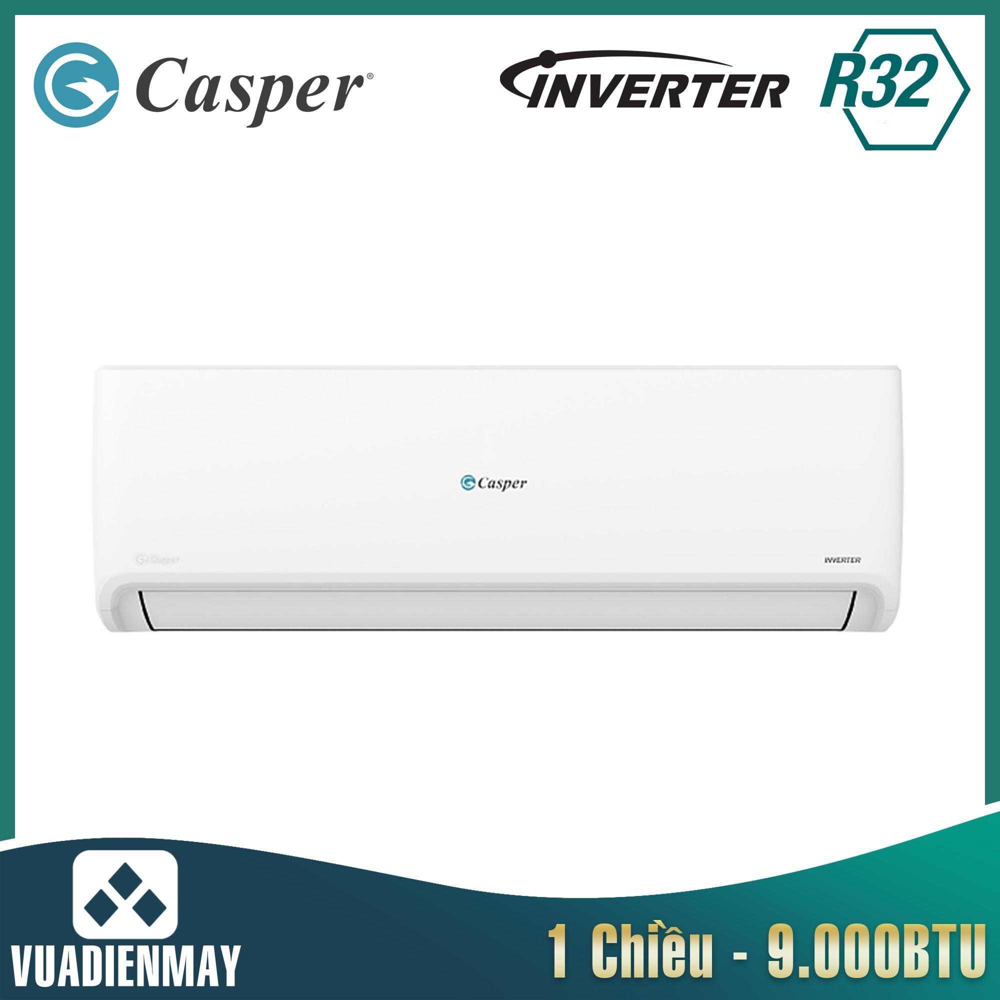 GC09IS32, điều hòa casper 9000 btu 1 chiều inverter