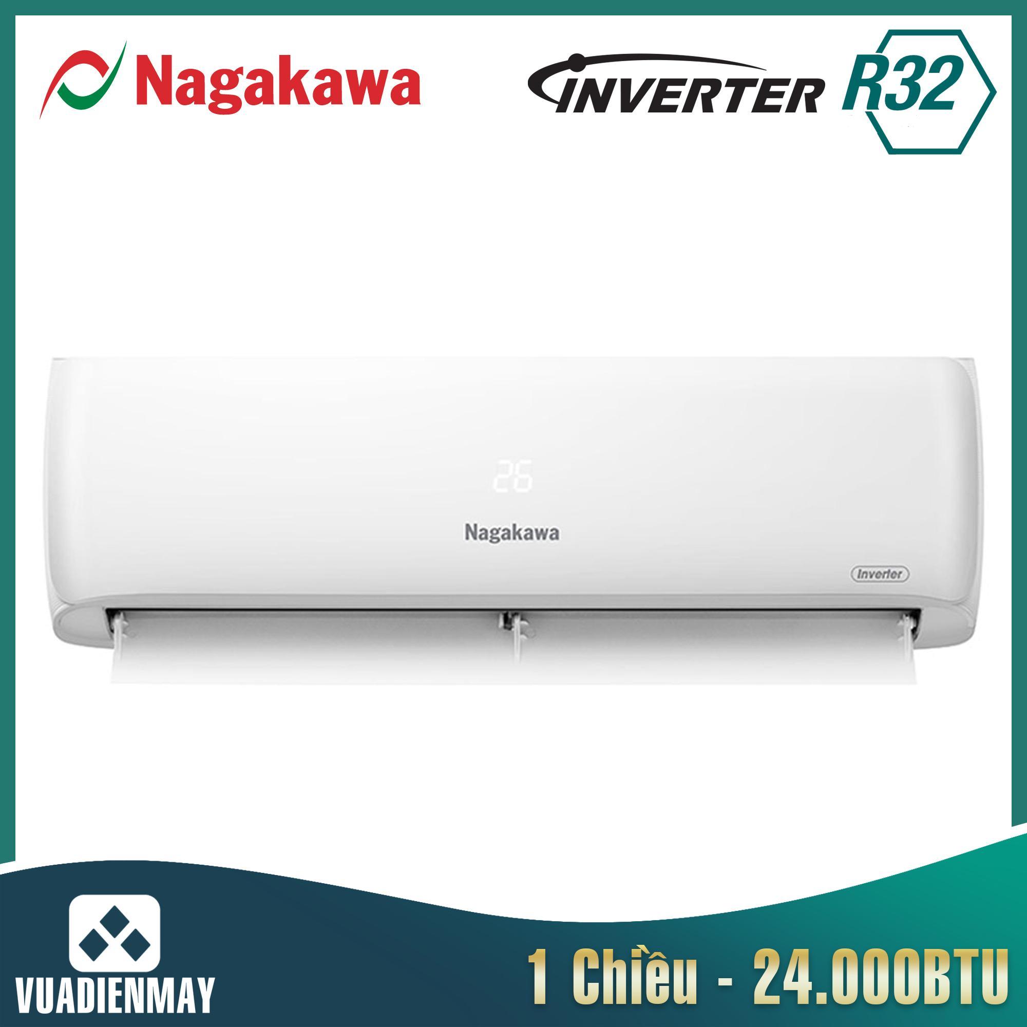 NIS-C24R2H08, Điều hòa Nagakawa 24000BTU 1 chiều inverter