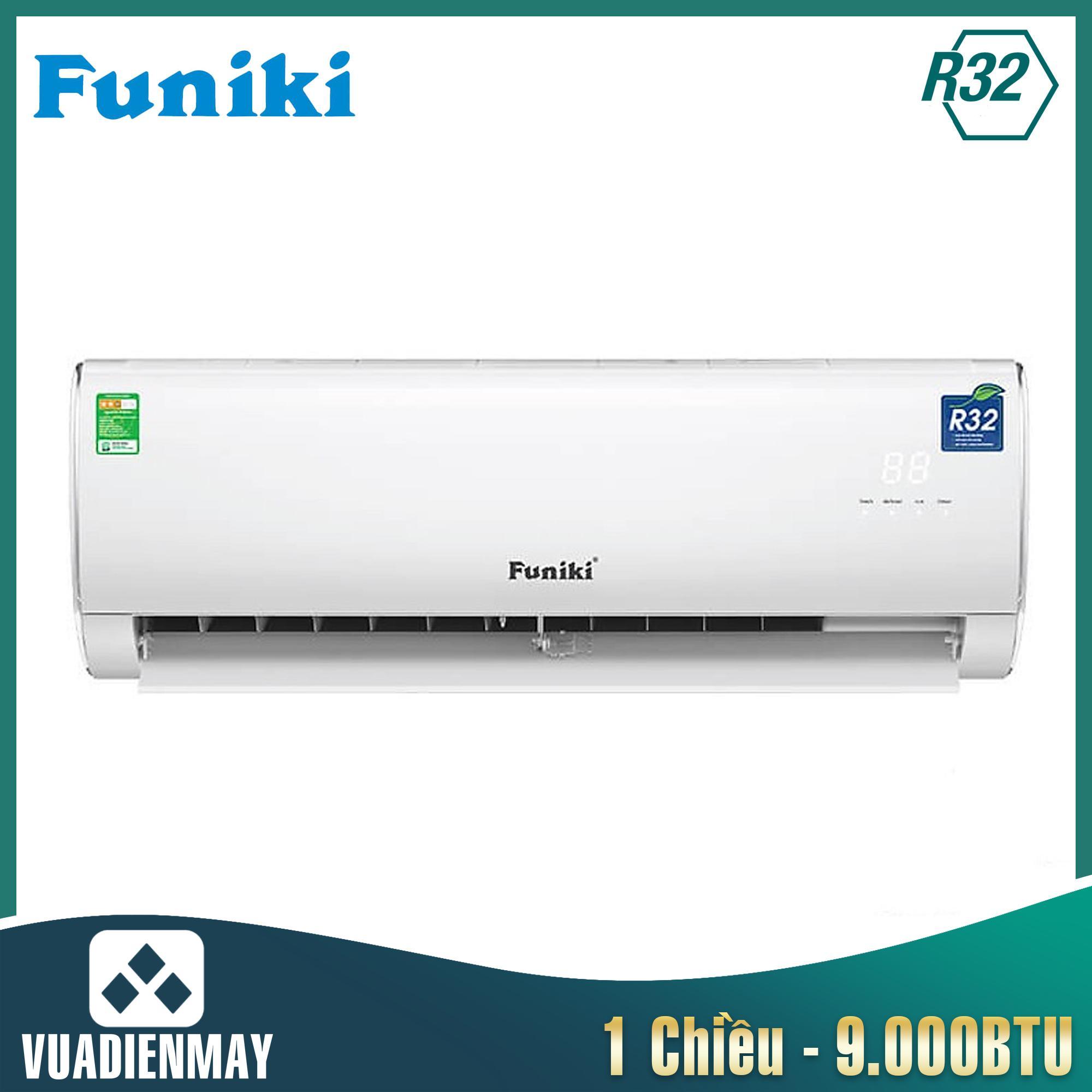 HSC09MMC, Điều hòa Funiki 9000BTU 1 chiều gas R32