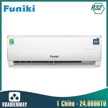 Điều hòa Funiki 24000BTU 1 chiều gas R32