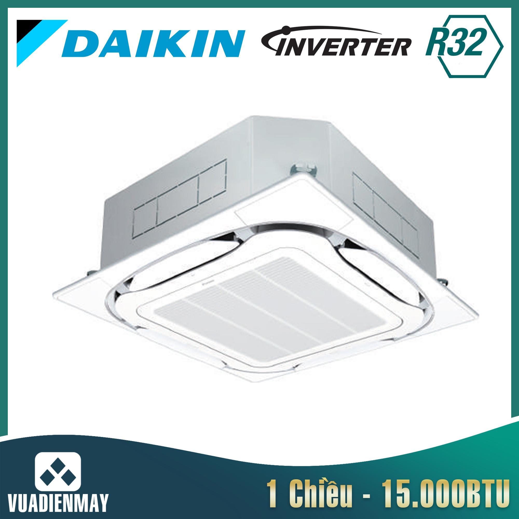 Điều hòa âm trần Daikin 15.000BTU inverter 1 chiều