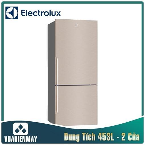Tủ Lạnh Electrolux Inverter 421 Lít màu Vàng Hồng