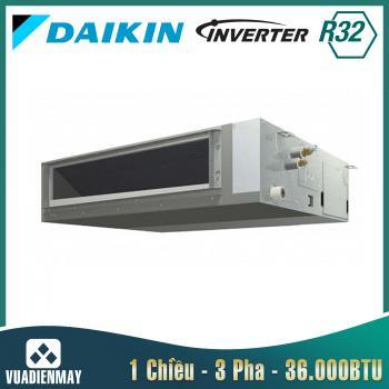 Điều hòa âm trần nối ống gió Daikin 36.000BTU 1 chiều inverter 3 Pha