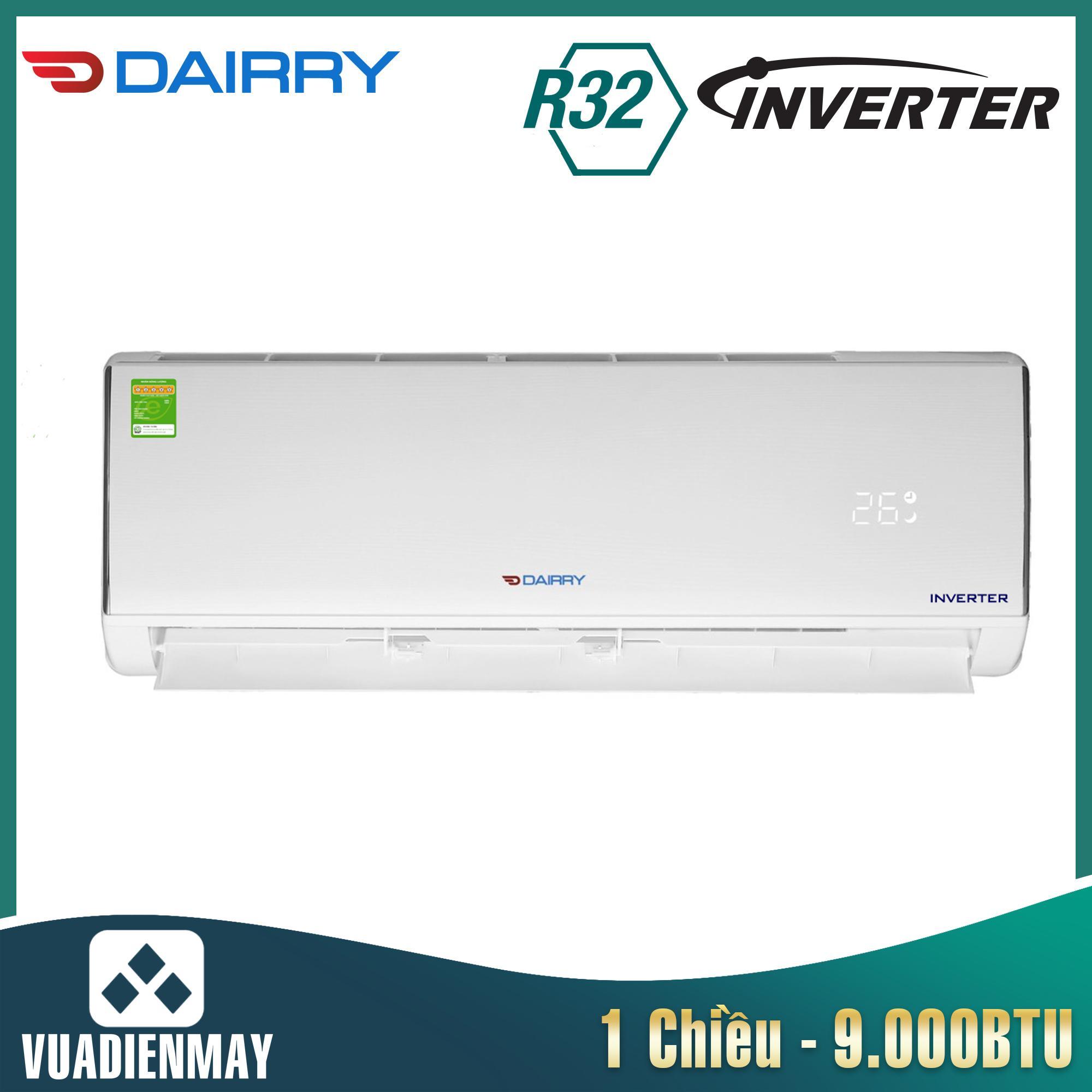 Điều hòa Dairry 9000BTU 1 chiều inverter