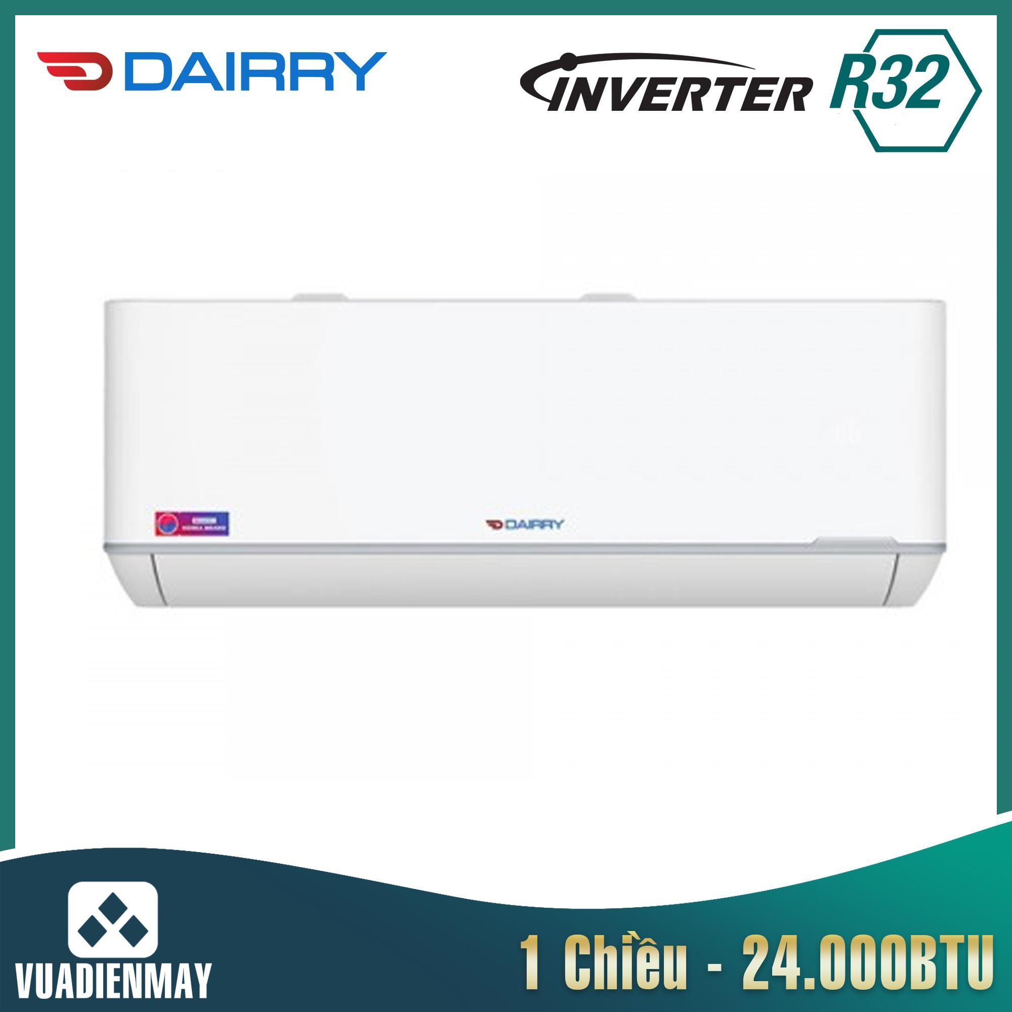Điều hòa Dairry 24000BTU 1 chiều inverter