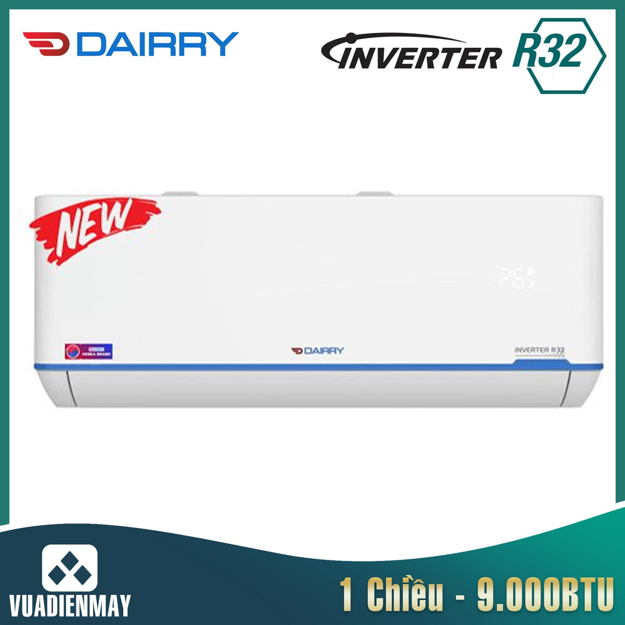Điều hòa Dairry 9000BTU 1 chiều inverter LKC