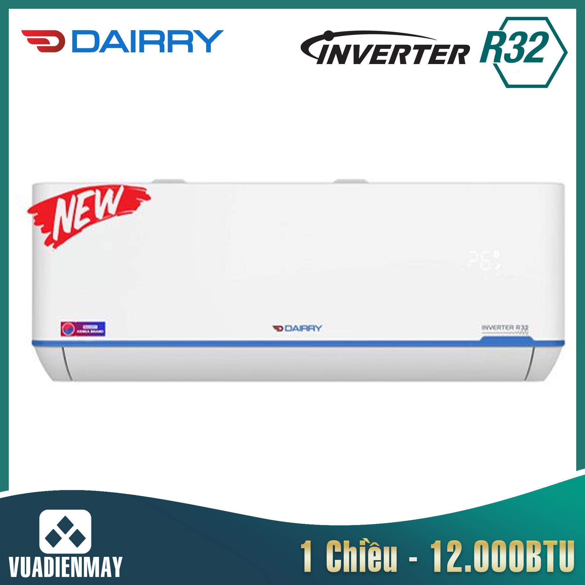 i-DR12LKC, Điều hòa Dairry 12000BTU 1 chiều inverter LKC