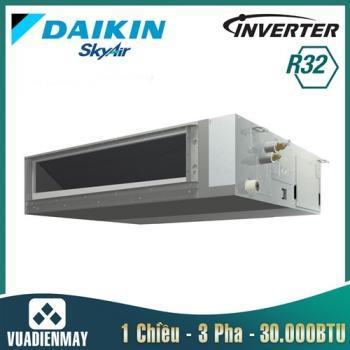 Điều hòa âm trần nối ống gió Daikin 30.000BTU 1 chiều inverter 3 Pha