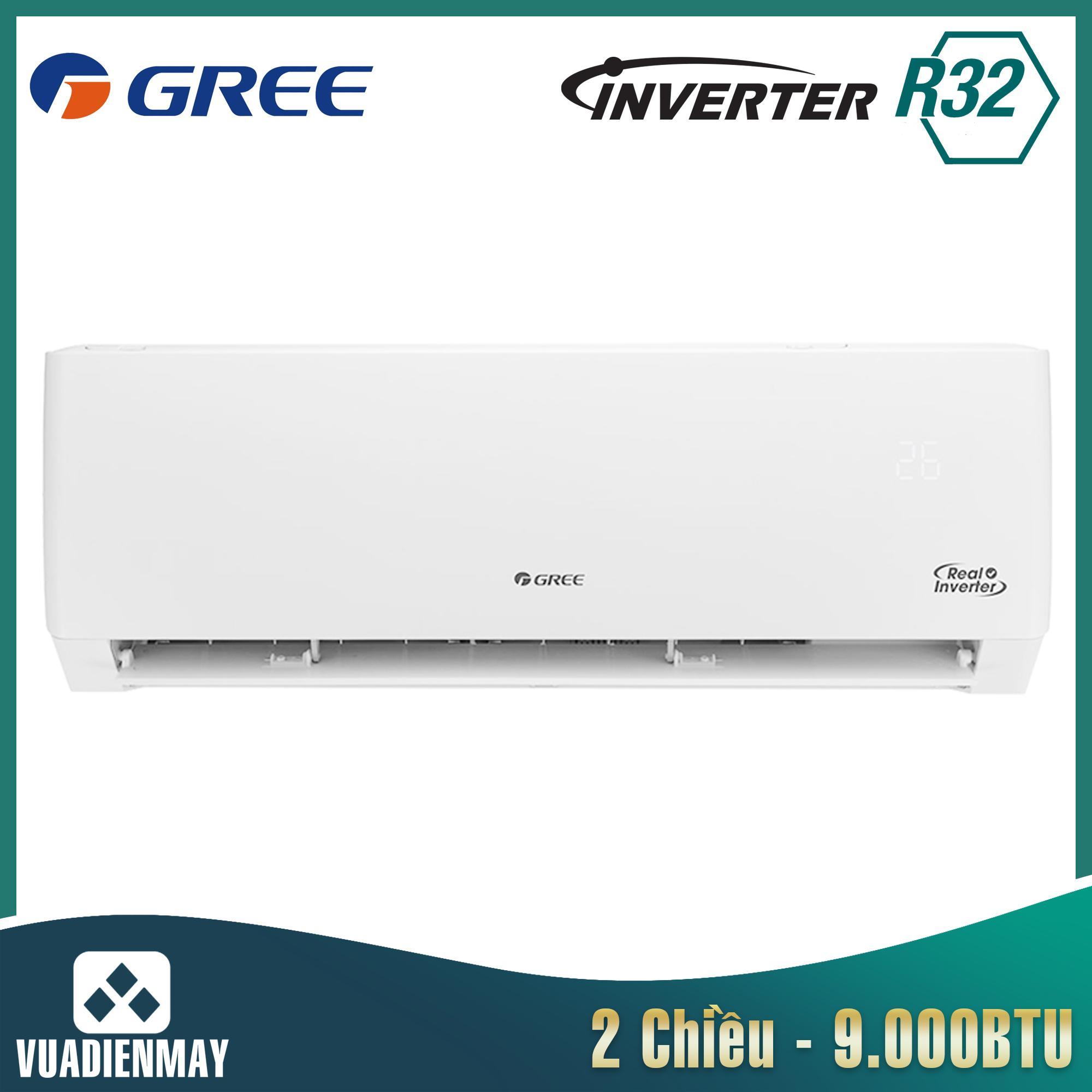 Điều hòa Gree 9000BTU 1 chiều Inverter