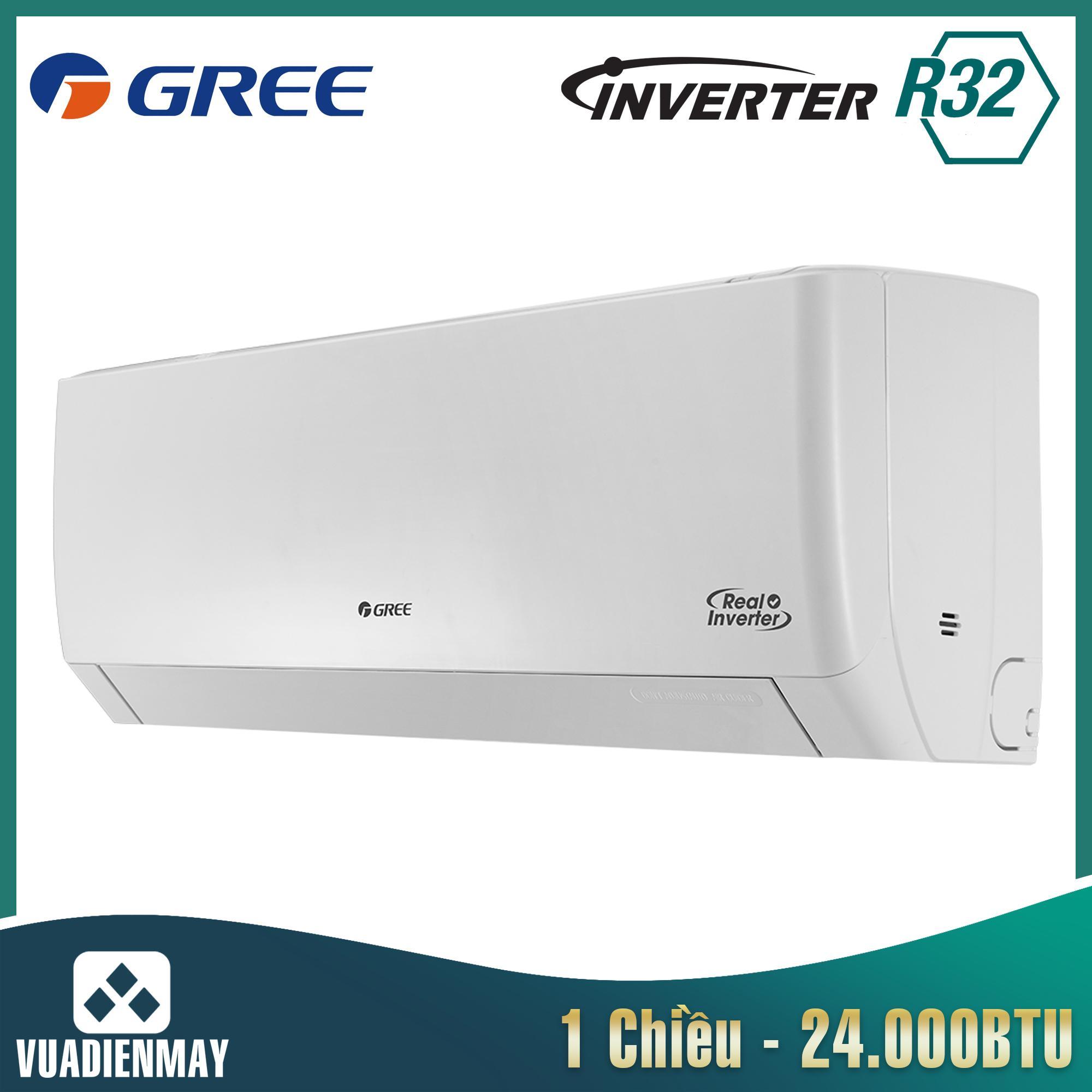 Điều hòa Gree 24000BTU 2 chiều Inverter