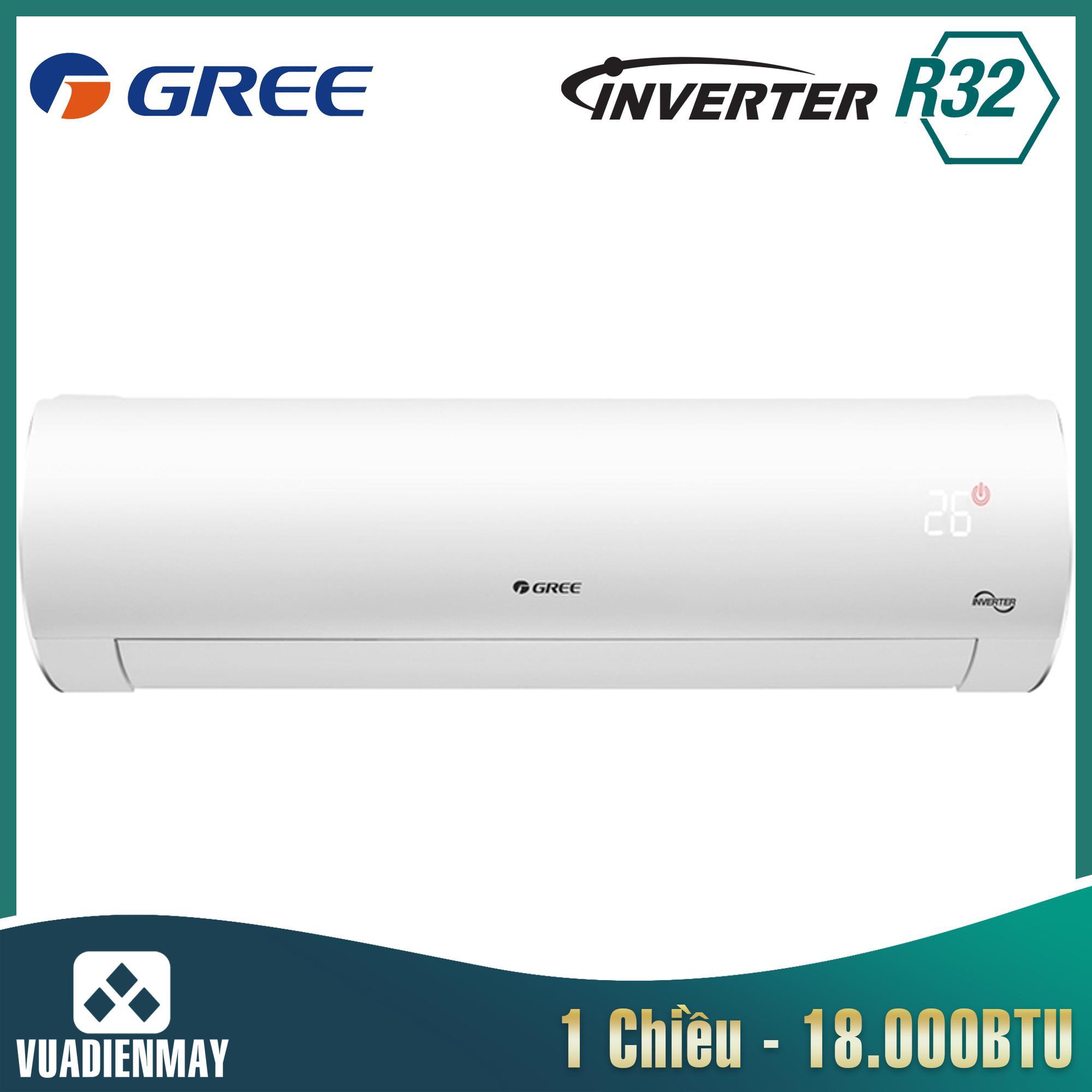 GWC18FD, Điều hòa Gree 18000BTU 1 chiều Inverter