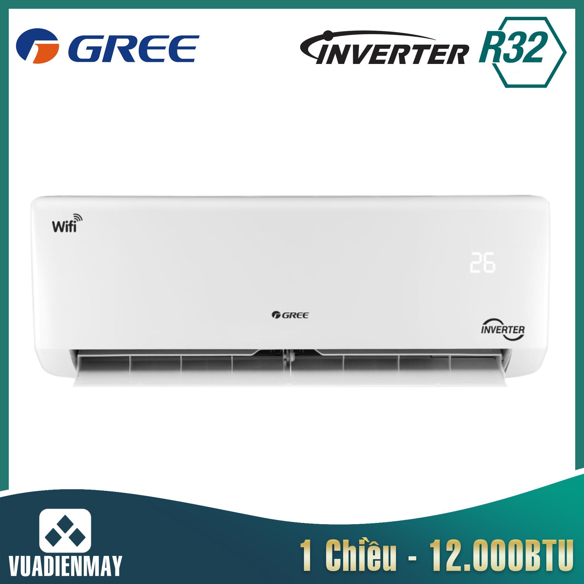 Điều hòa Gree 12000BTU 1 chiều Inverter ga R410A